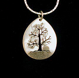 Silver copper brass jewelry earrings necklaces pendantspins tree of life necklace pendant free chain included aloadofball Choice Image